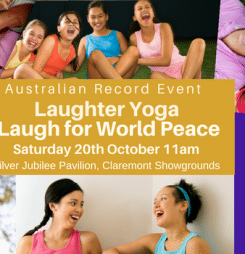Laughter Yoga – Laugh for World Peace