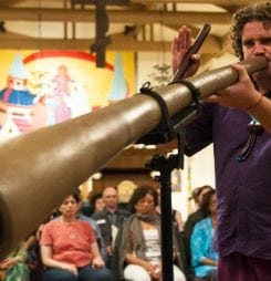 Didgeridoo Sound Healing World Record Event