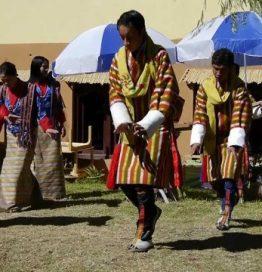 Bhutanese Dance Group